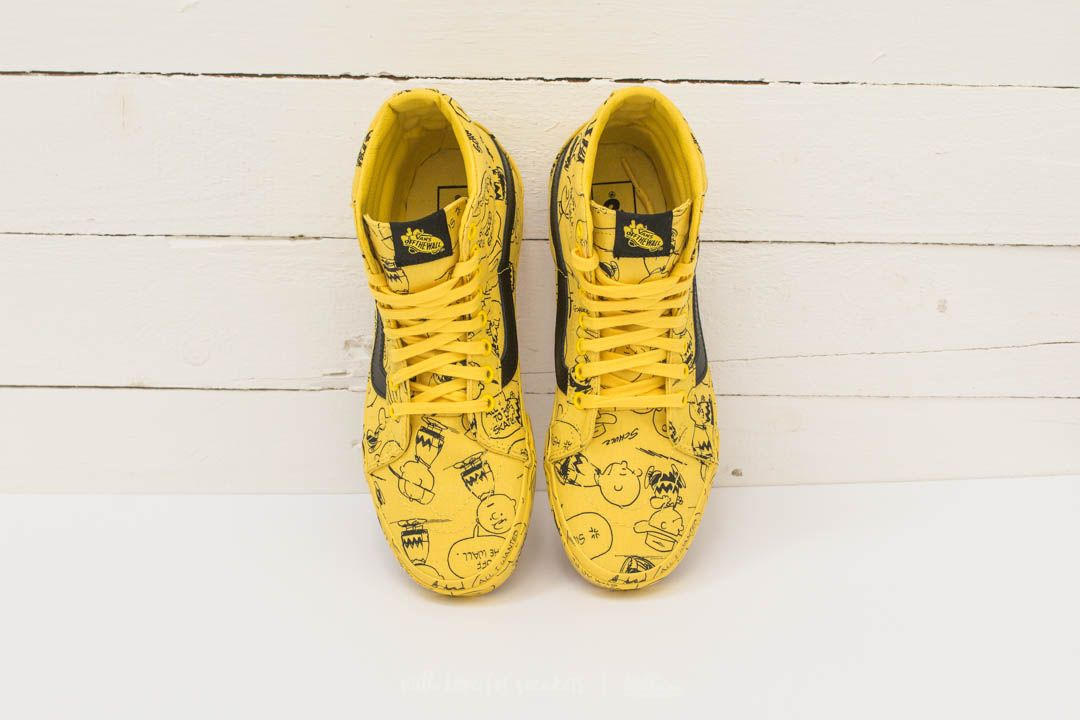 Vans x Peanuts SK8 Hi Reissue Charlie Brown Peanuts Maize | Footshop