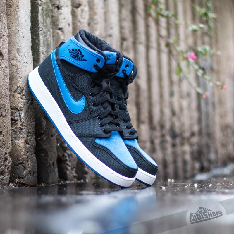 bd4e47f32 Air Jordan 1 Retro KO High OG Black Sport Blue