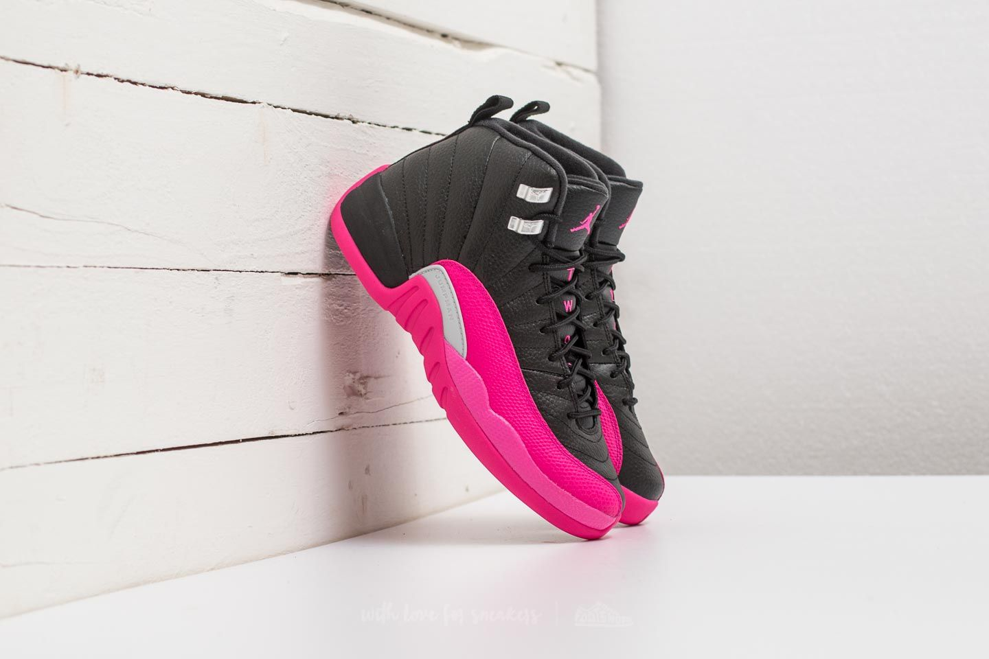 b5aef17bd5f6 Air Jordan 12 Retro GG Black  Deadly Pink