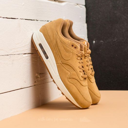 Nike Air Max 1 PremiumFlax Flax Sail Gum Med Brown
