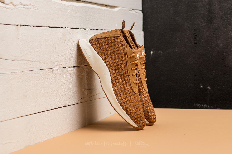 Pánské tenisky a boty Nike Air Woven Boot Flax/ Ale Brown-Sail