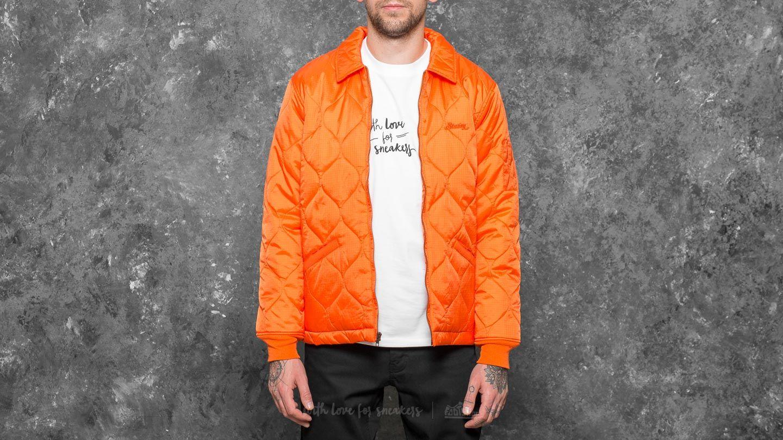 Stüssy Quilted Work Jacket Orange