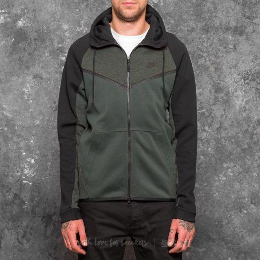 banda Ciudadanía sonriendo  Nike Sportswear Tech Fleece Windrunner Hoodie Outdoor Green ...