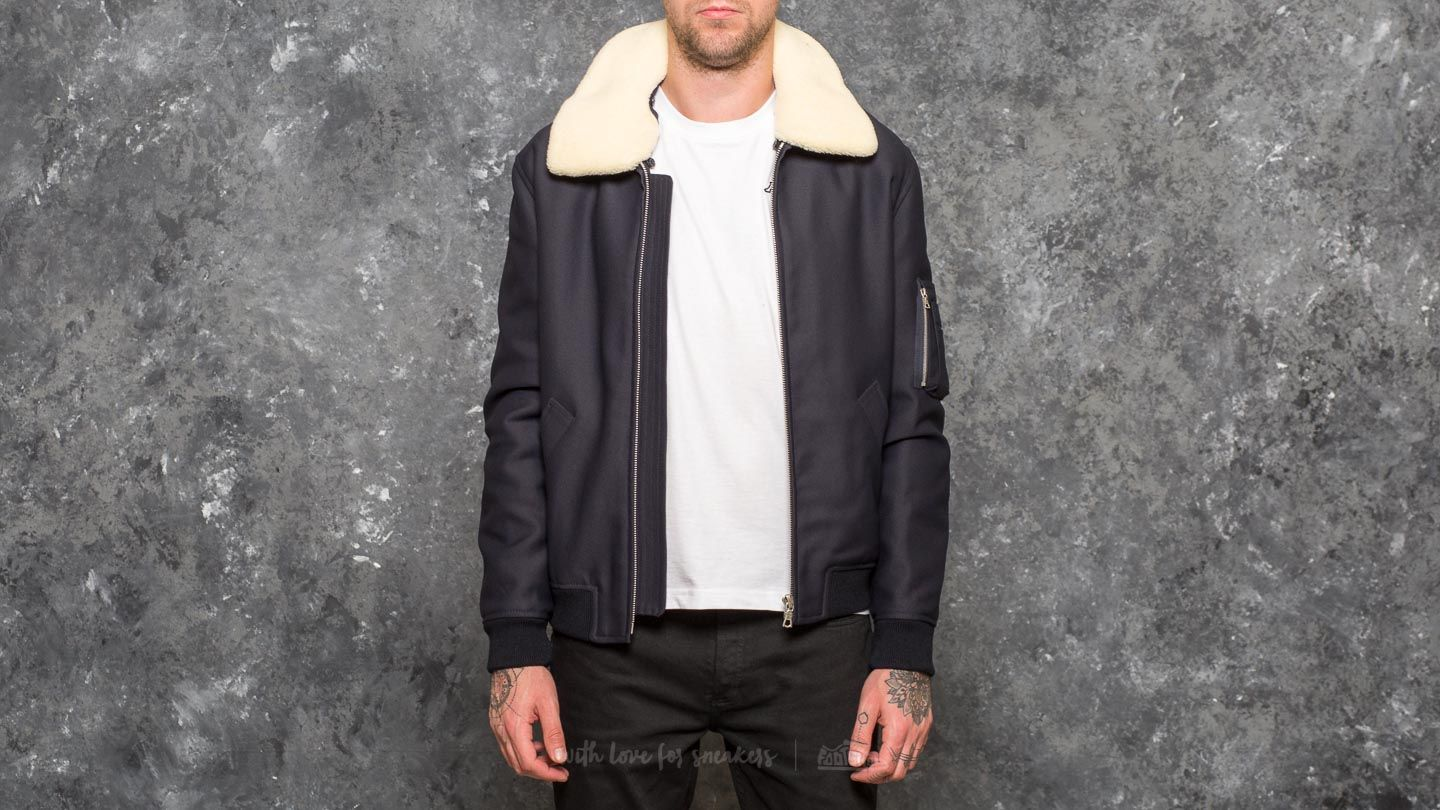 Bundy A.P.C. Manchester Jacket Dark Navy