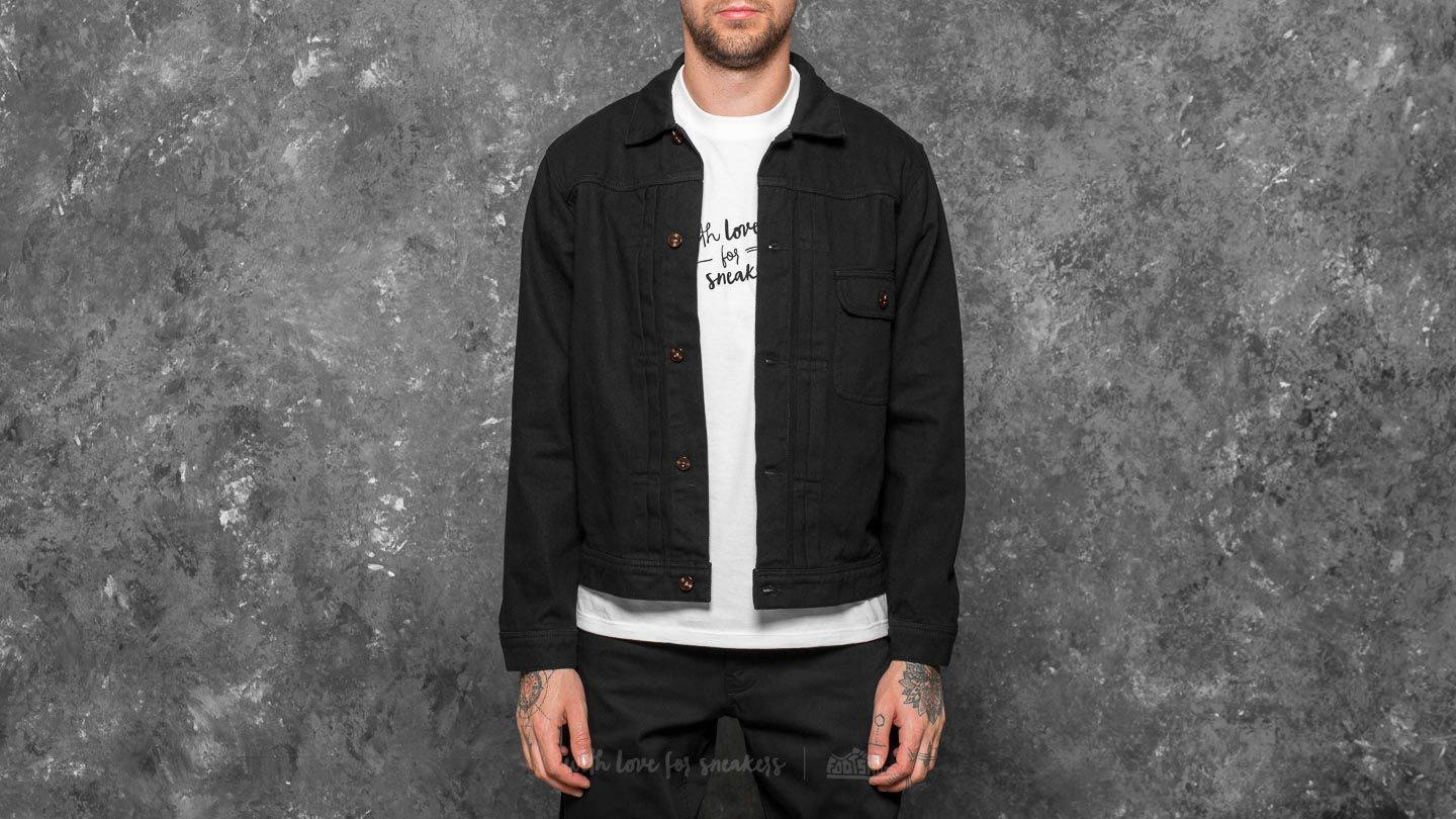 HUF Type 1 Twill Jacket Black