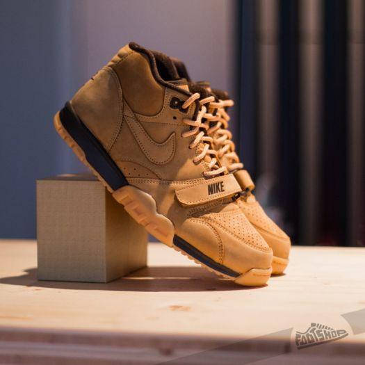 Docenas Nosotros mismos Automatización  Women's shoes Nike Air Trainer 1 Mid PRM QS Flax/Flax-Barogue Brown    Footshop