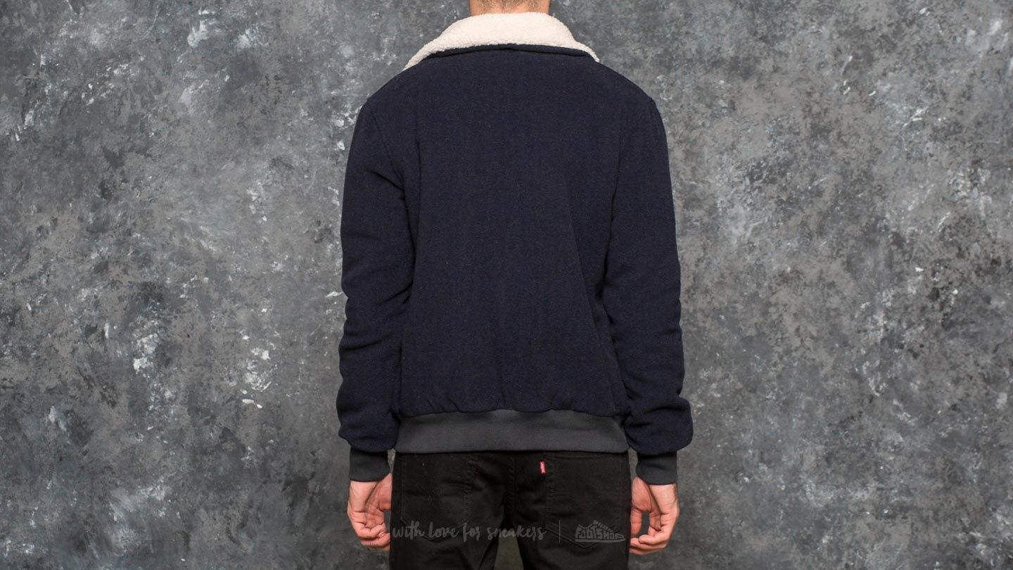 by Parra Topper Harley Wool Jacket Dark Navy Blue at a great price 92 € buy 1076d9518