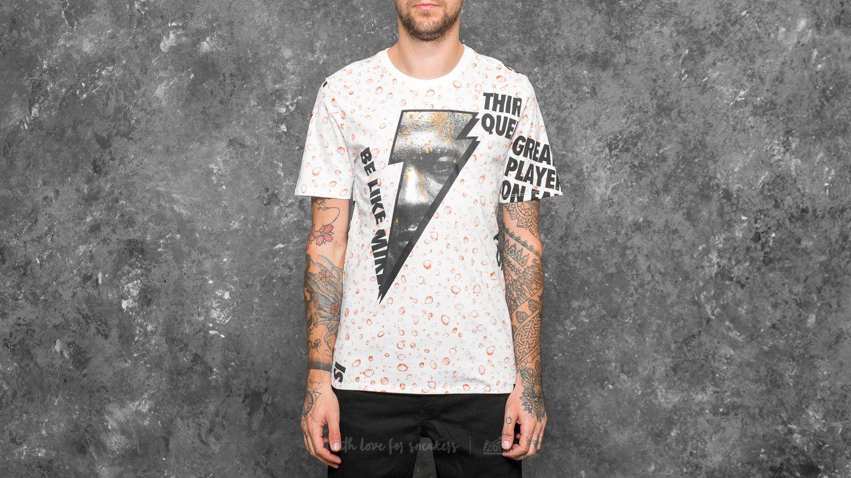 0c9a1cac20c76d Jordan Sportswear Like Mike Allover Print Tee White