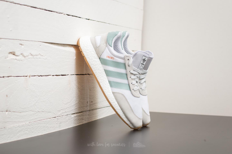 half off b5c55 c65cb adidas Iniki Runner W Ftw White/ Tactile Green/ Gum | Footshop