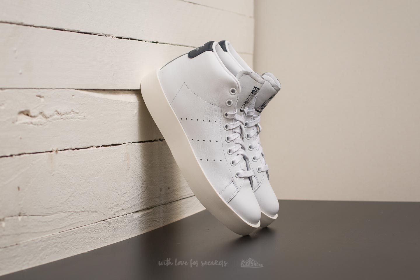 huge discount b4cfe ca67a adidas Stan Smith Bold mid W Ftw White  Ftw White  Core Navy