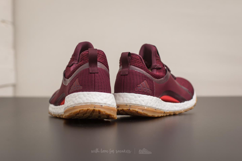 adidas Running adidas Running UltraBOOST (Red NightMystery RubyBlack) Women's Running Shoes from Zappos | ShapeShop
