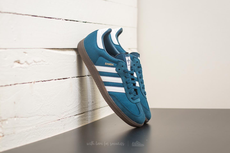 98b69cdd9b1e adidas Samba Blue Night  Footwear White  Gum
