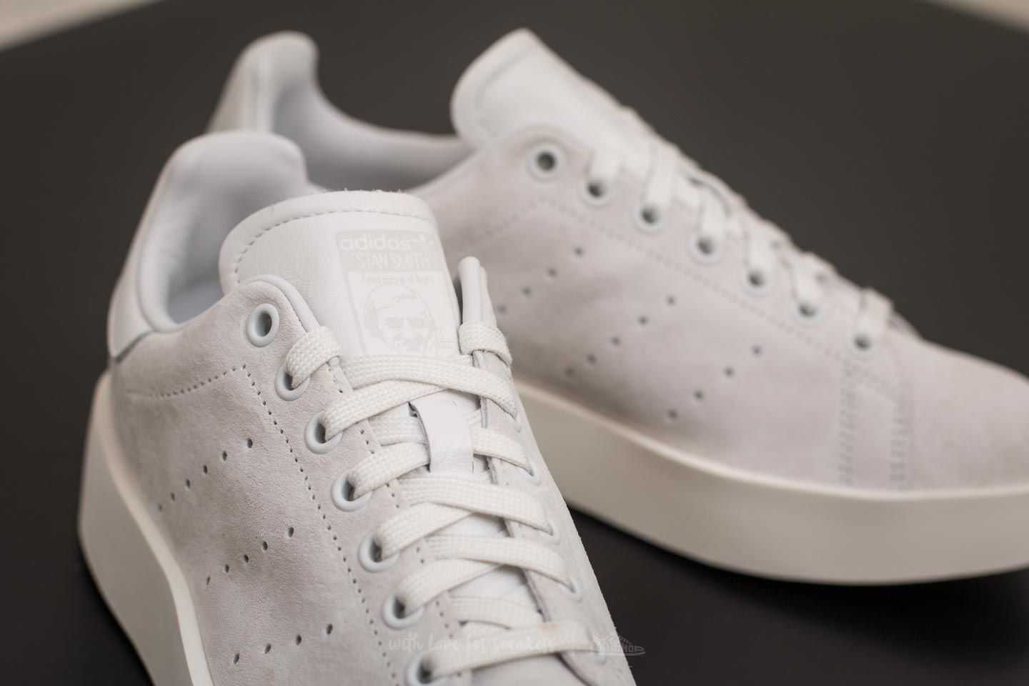 cheap for discount f3868 51b4c adidas Stan Smith Bold W Crystal White/ Crystal White/ Off ...