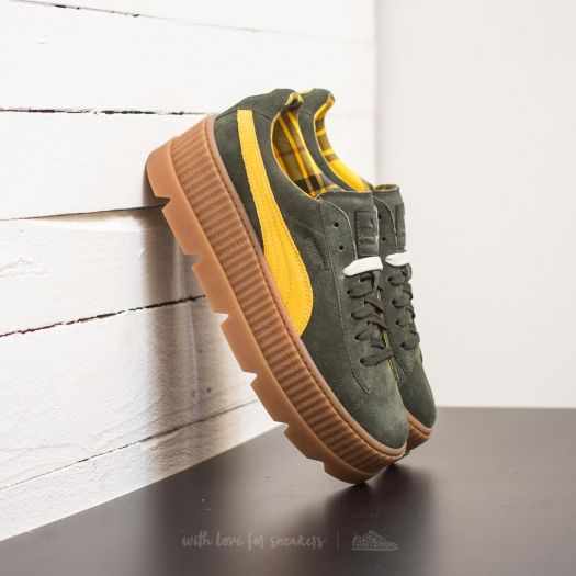 low priced 6e32d 43057 Puma Fenty Cleated Creeper Suede Rosin-Lemon-Vanilla Ice ...