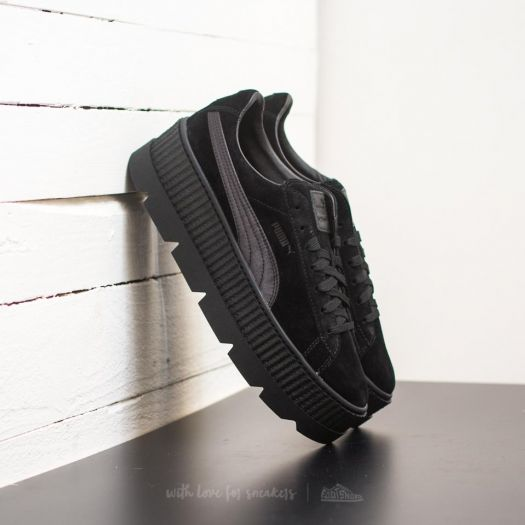 sale retailer 0e982 1ffed Puma Fenty Cleated Creeper Suede Puma Black | Footshop