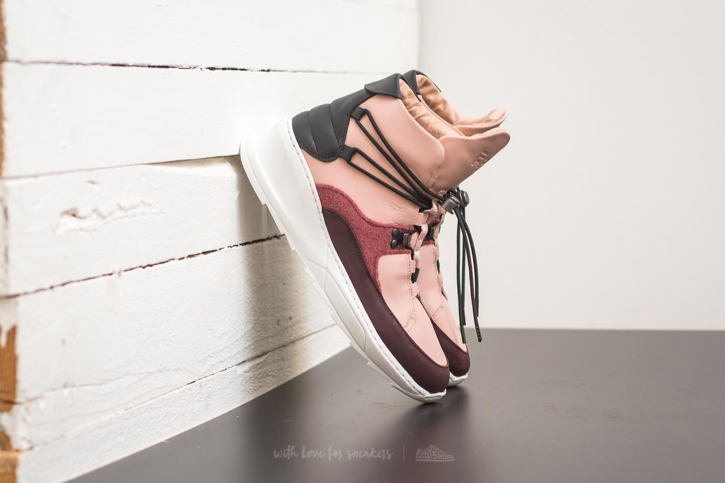 Women's shoes Filling Pieces Mid Marina Shark Bogor Pink