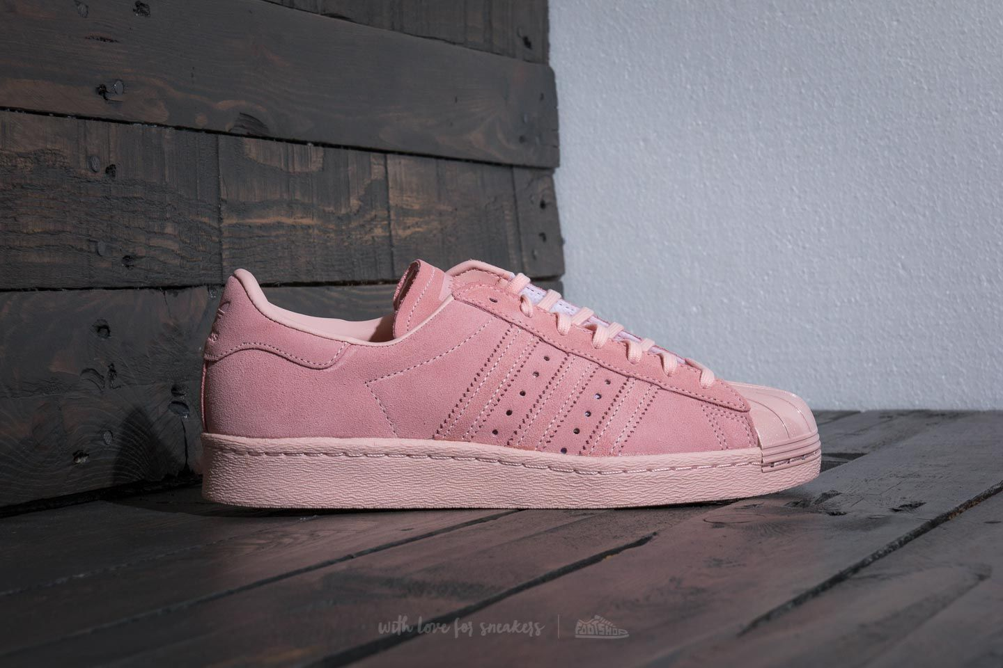Adidas Superstar 80S Metal Toe W Icey Pink Icey Pink Icey