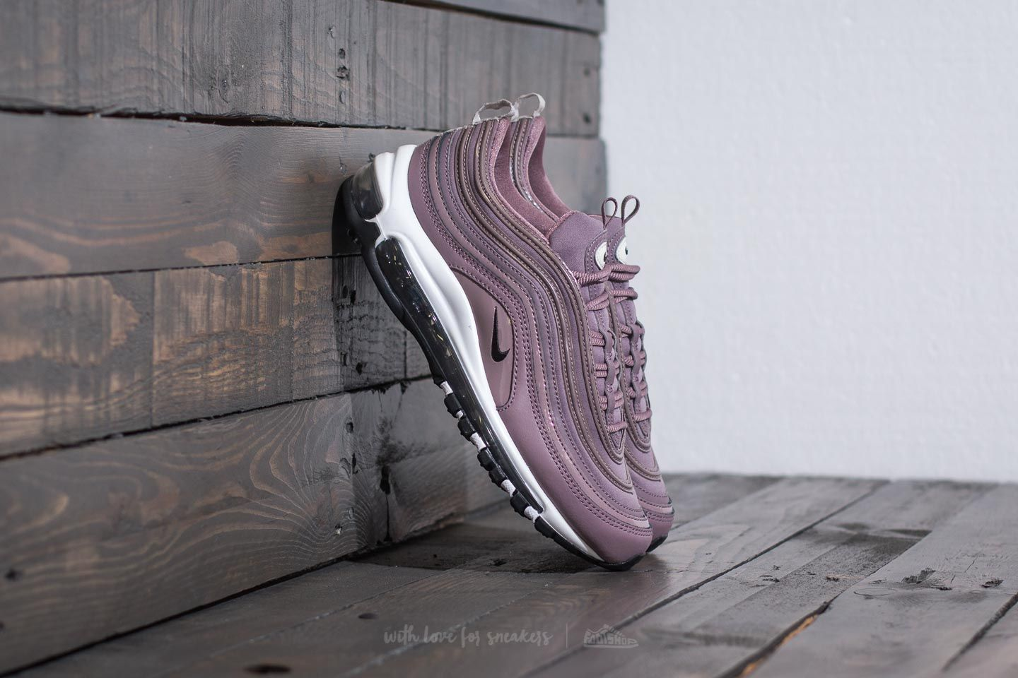 d4940139ea Nike W Air Max 97 Premium Taupe Grey/ Light Bone/ Black | Footshop