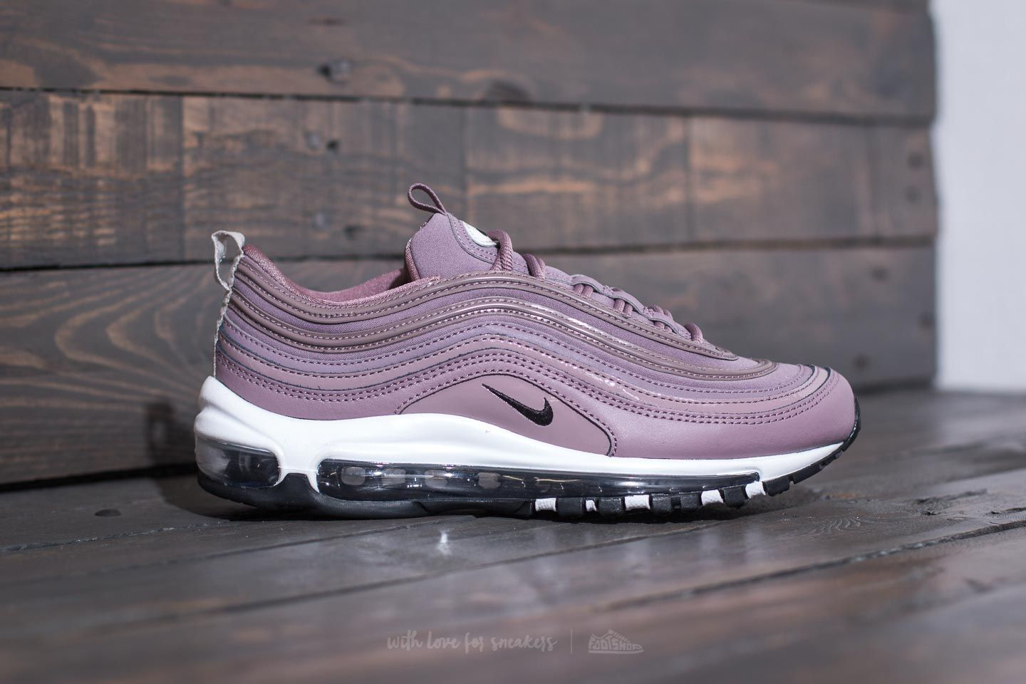 Nike W Air Max 97 Premium Taupe Grey Light Bone Black | Footshop