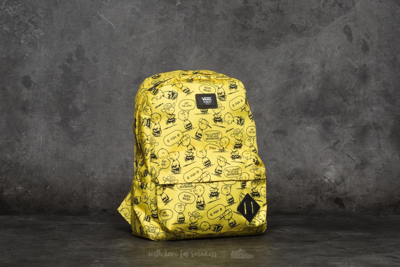 Vans x Peanuts Old Skool II Backpack Charlie Brown | Footshop