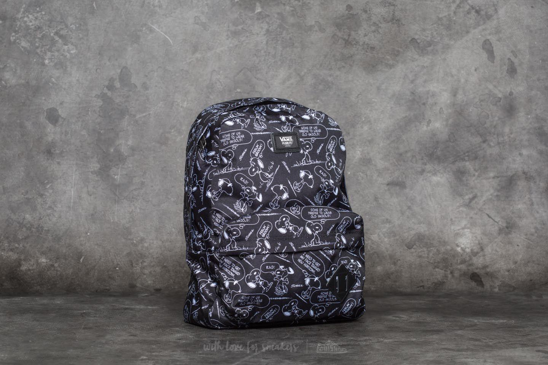 b38e415d0c76 Vans x Peanuts Old Skool II Snoopy Backpack Black