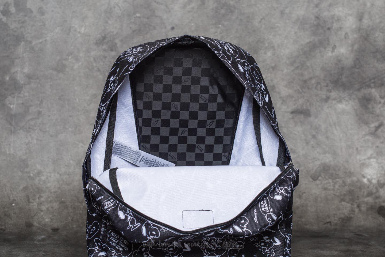 Vans x Peanuts Old Skool II Snoopy Backpack Black | Footshop