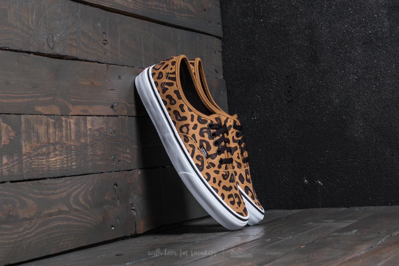 shoes Vans Authentic (Leopard) Black