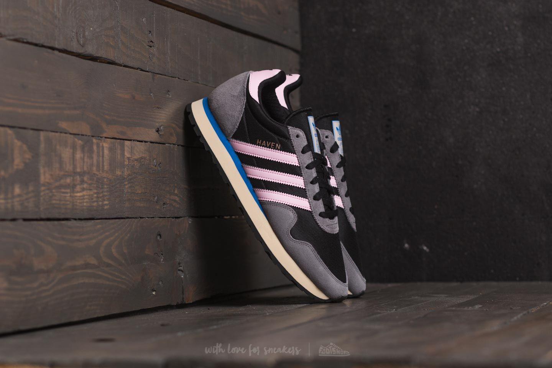adidas Haven W Core Black Wonder Pink Grey Four | Footshop