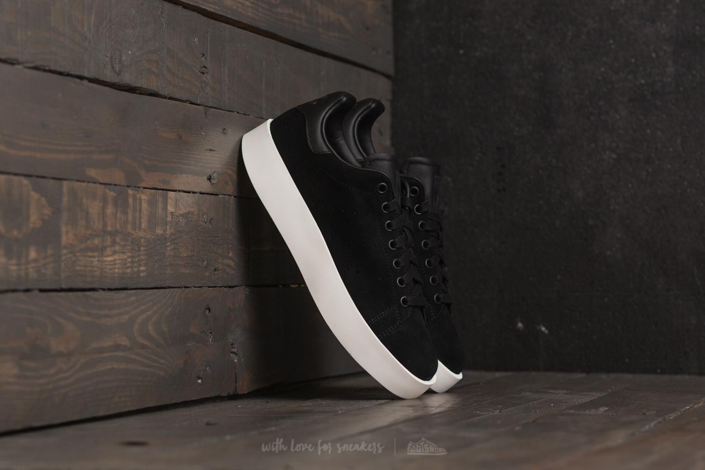adidas Stan Smith Bold W Core Black/ Core Black/ Off White | Footshop