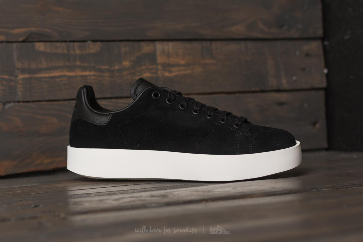 adidas Stan Smith Bold W Core Black/ Core Black/ Off White ...
