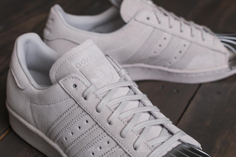 adidas Superstar 80s Metal Toe W Grey One Grey One Grey
