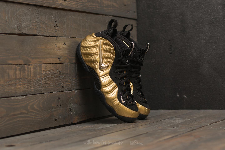 sports shoes 71259 862cc Nike Air Foamposite Pro Metallic Gold/ Black-Black | Footshop
