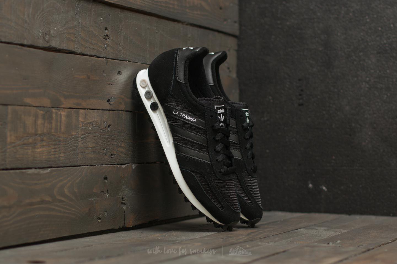 c64cab8c01d27 adidas La Trainer OG Core Black  Core Black  Footwear White ...