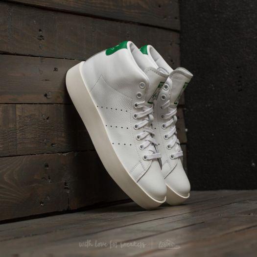 innovative design 8c04f 172d6 adidas Stan Smith Bold Mid W Ftw White/ Ftw White/ Green ...