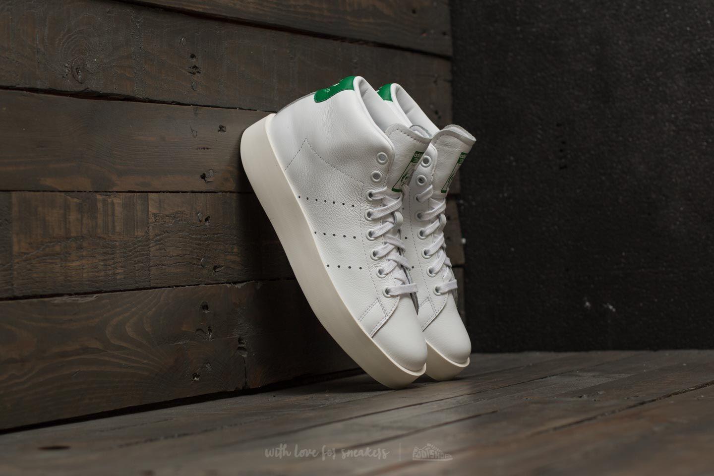 765bc17ed6f8 adidas Stan Smith Bold Mid W Ftw White  Ftw White  Green