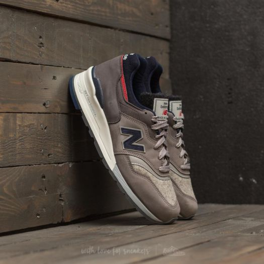 the best attitude 7a6ac be37f New Balance x Woolrich 997 Grey/ Blue-Red | Footshop