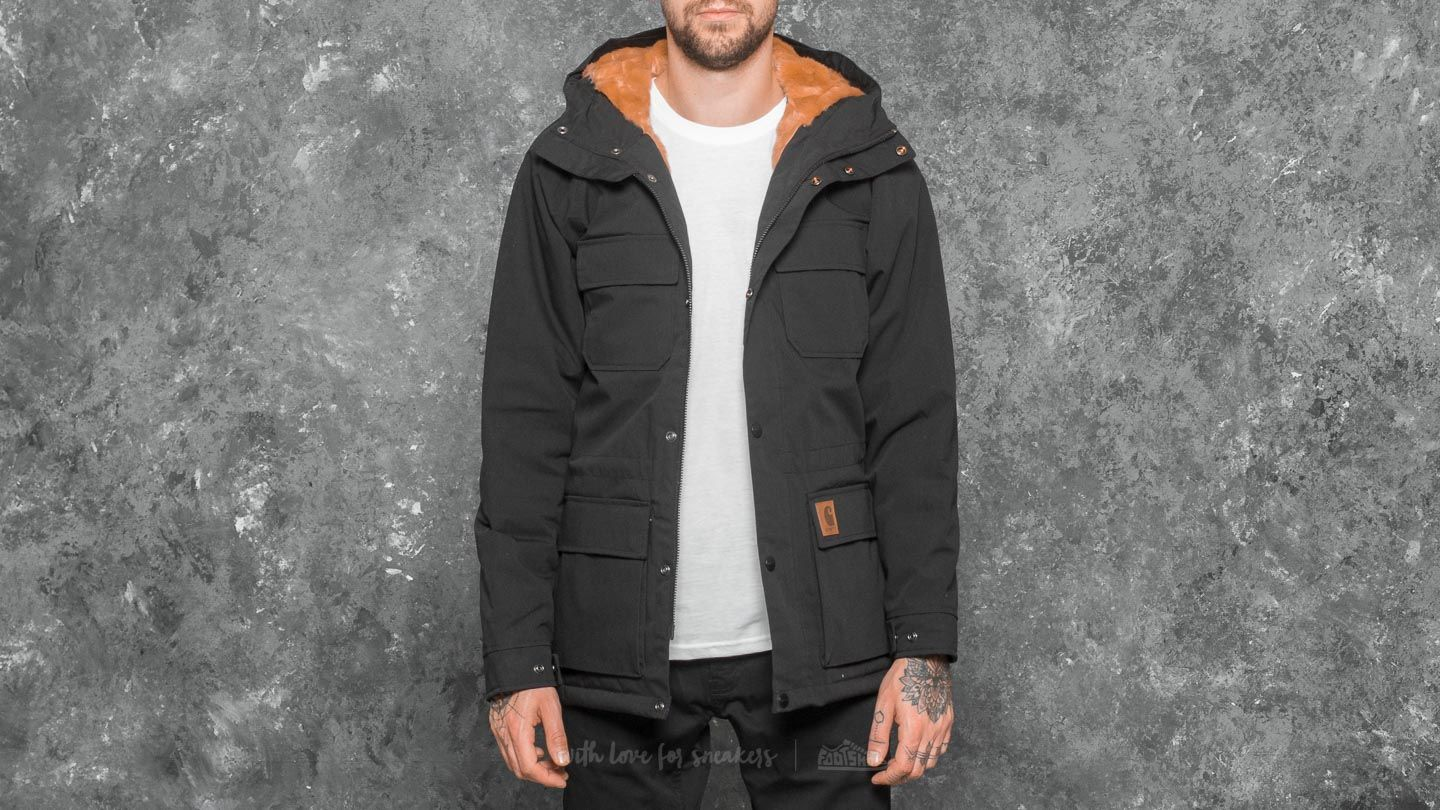 8ea717915 Carhartt WIP Mentley Jacket Black | Footshop