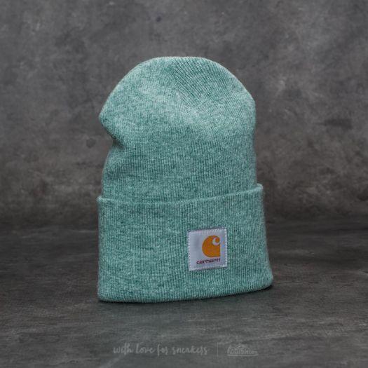Carhartt WIP Acrylic Watch Hat Soft Green Heather  28f372ef0fb