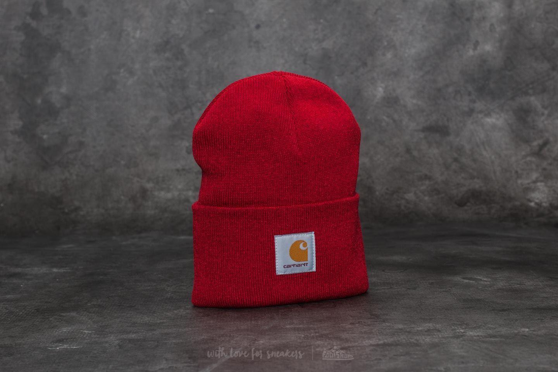 ccec66577 Carhartt WIP Acrylic Watch Hat Blast Red | Footshop