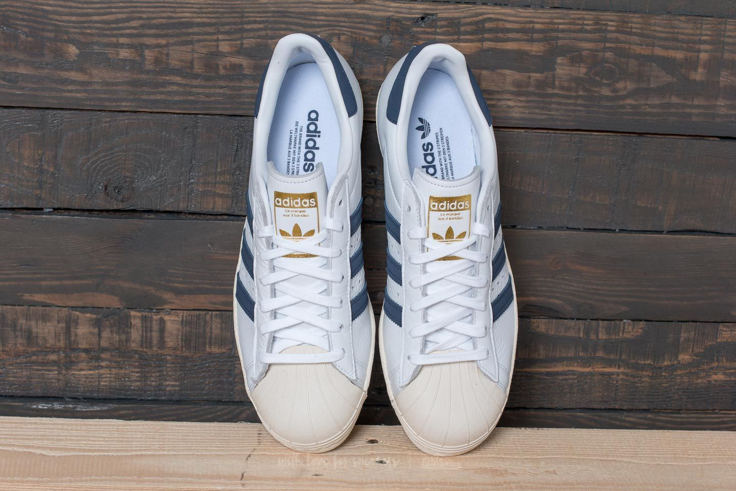 adidas Superstar 80s Ftw White  Trace Blue  Grey Two at a great price 99 3aff86b12b0