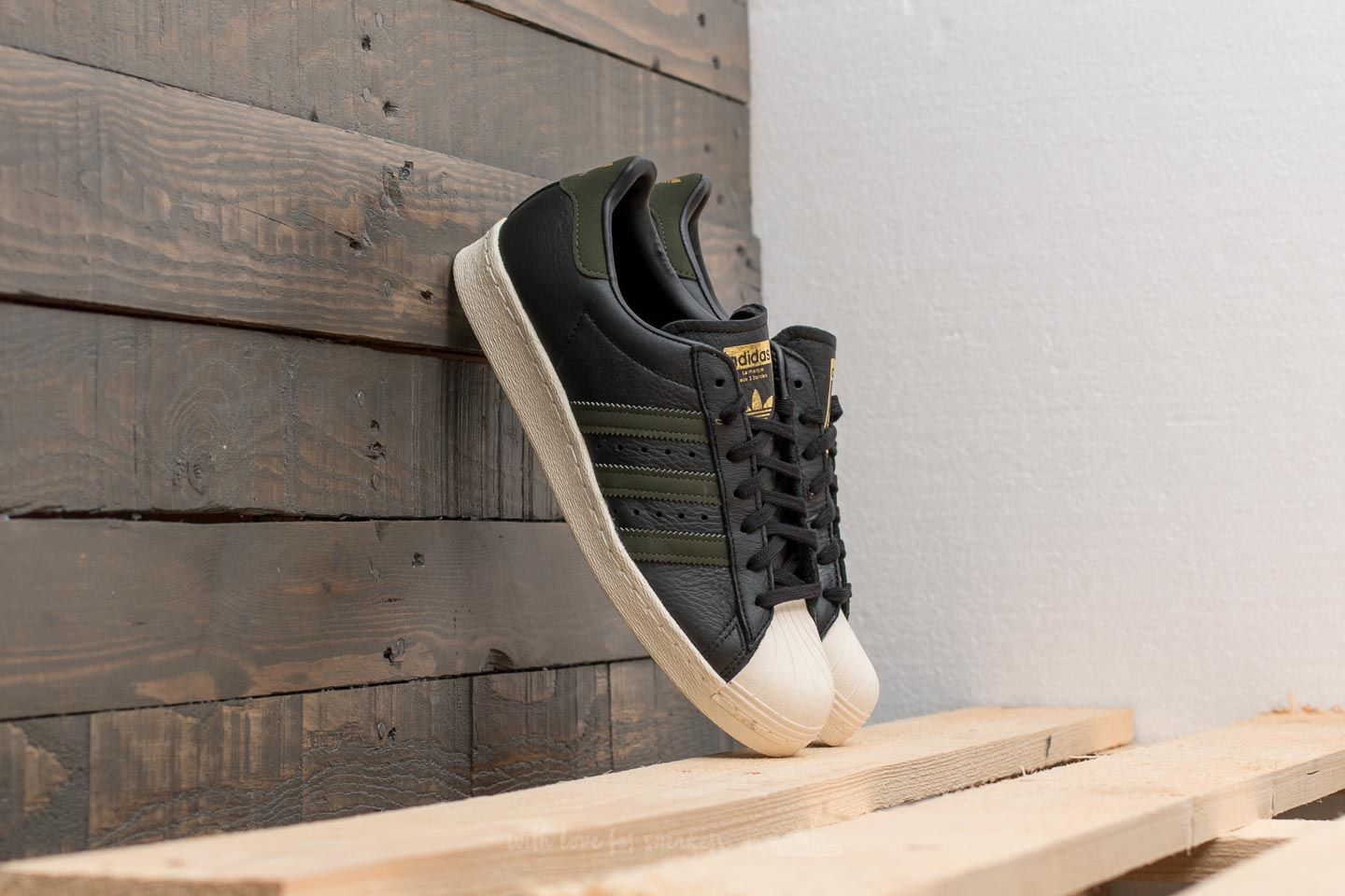 check out d47e7 be3ab adidas Superstar 80s. Core Black  Night Cargo  ...