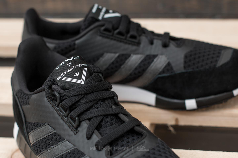 adidas x White Mountaineering Boston Super Primeknit Core Black Core Black Ftw White | Footshop