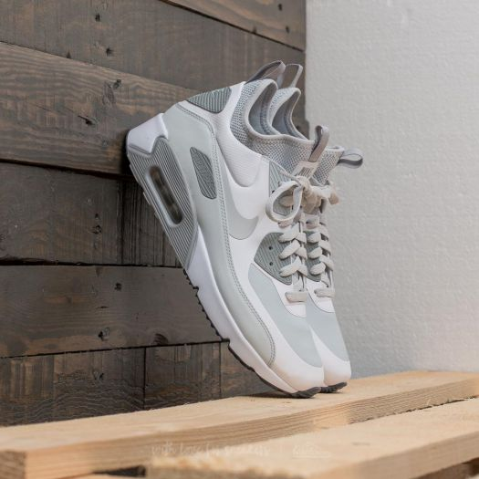 Nike Air Max 90 Ultra Mid Winter White Pure Platinum Wolf Grey | Footshop