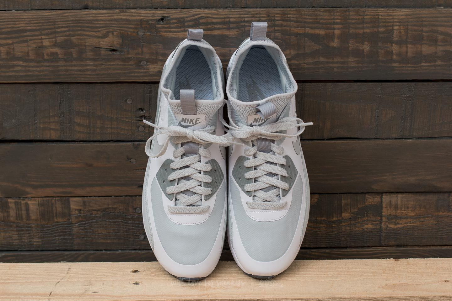 uk availability 31bb9 53b1d Nike Air Max 90 Ultra Mid Winter White/ Pure Platinum-Wolf ...