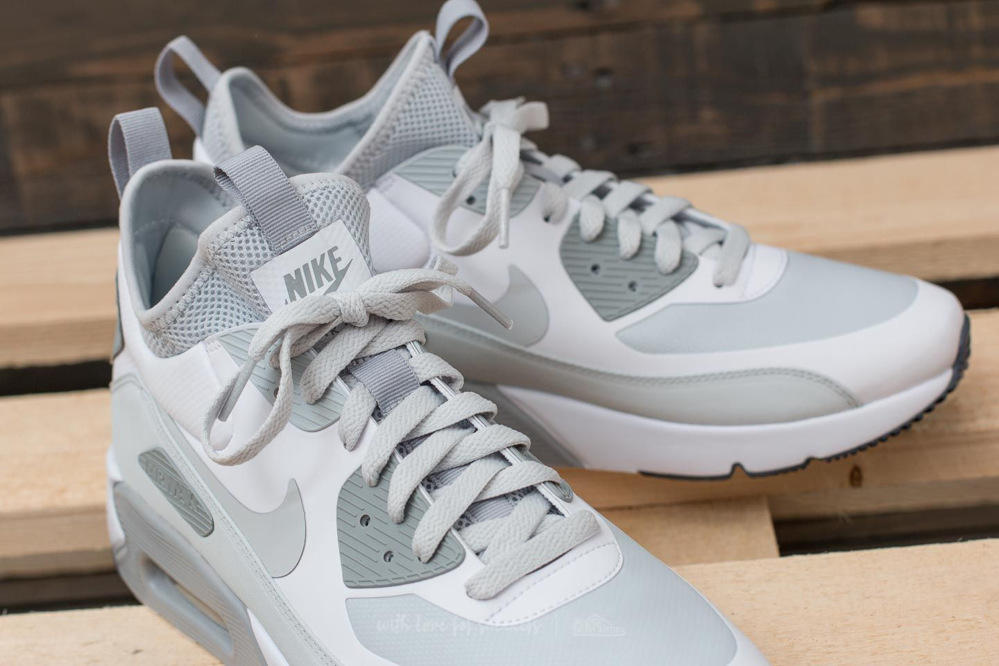 uk availability c2ae5 0ec32 Nike Air Max 90 Ultra Mid Winter White/ Pure Platinum-Wolf ...