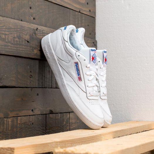 Reebok Club C 85 SO White Light Solid Grey Blue | Footshop