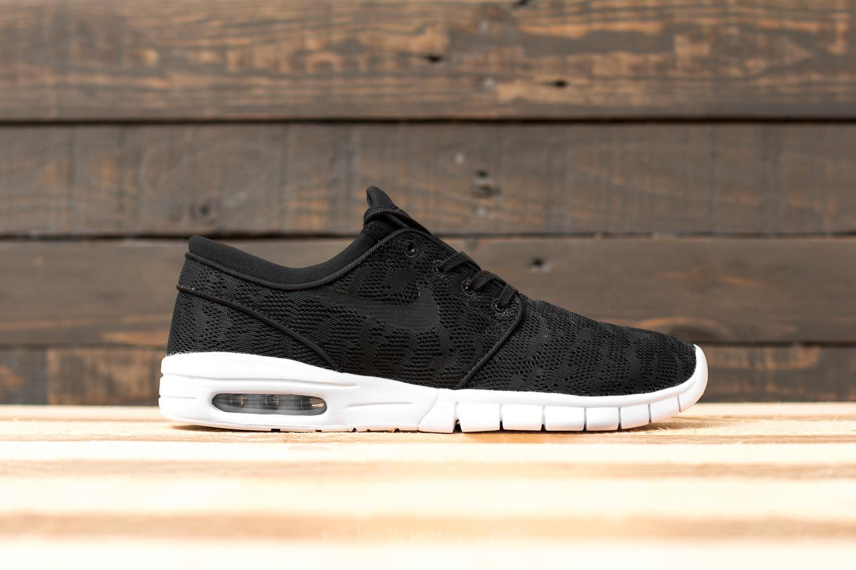 Porra preocuparse Oculto  Men's shoes Nike Stefan Janoski Max Black/ Black-White | Footshop