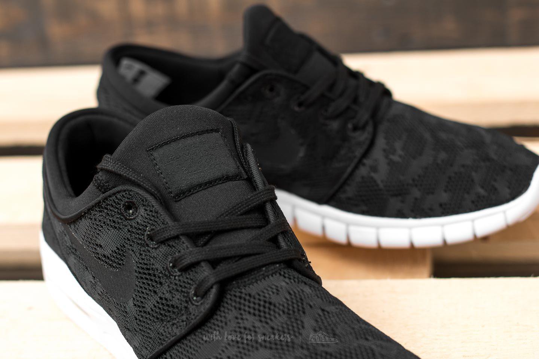 Nike Stefan Janoski Max Black/ Black-White | Footshop