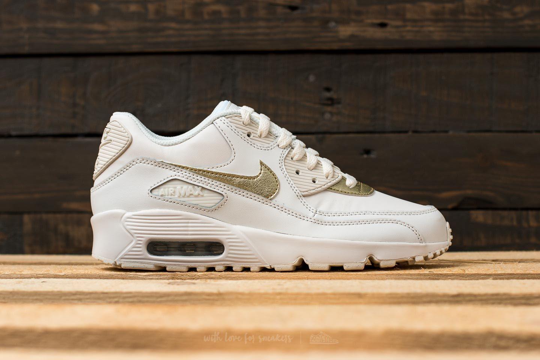 nike   Kaufen Nike Air Max 90 Ltr Metallic Gold weiß (Damen