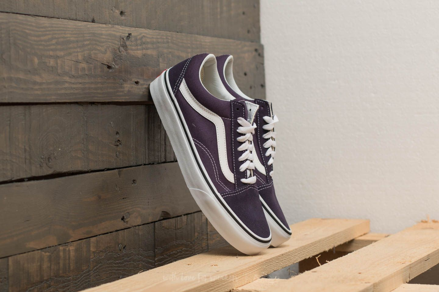 Vans Old Skool Nightshade True White | Footshop